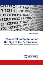 Numerical Computation of the Sign of the Determinant