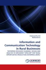 Information and Communication Technology in Rural Businesses