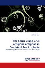 The Sarus Crane Grus antigone antigone in Semi-Arid Tract of India