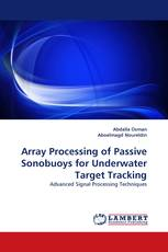 Array Processing of Passive Sonobuoys for Underwater Target Tracking