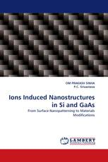Ions Induced Nanostructures in Si and GaAs
