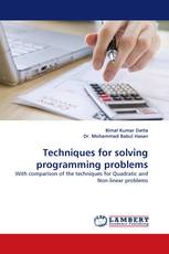 Techniques for solving programming problems