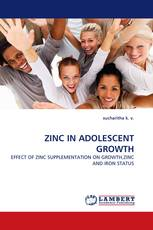 ZINC IN ADOLESCENT GROWTH