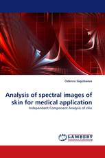 Analysis of spectral images of skin for medical application