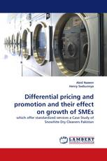 Differential pricing and promotion and their effect on growth of SMEs
