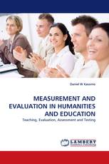 MEASUREMENT AND EVALUATION IN HUMANITIES AND EDUCATION