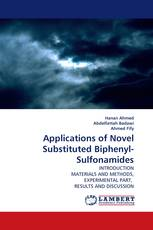 Applications of Novel Substituted Biphenyl-Sulfonamides