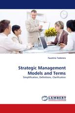 Strategic Management Models and Terms