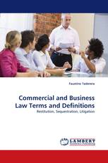 Commercial and Business Law Terms and Definitions