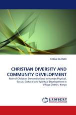 CHRISTIAN DIVERSITY AND COMMUNITY DEVELOPMENT