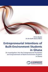 Entrepreneurial Intentions of Built-Environment Students in Ghana