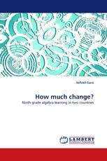 How much change?