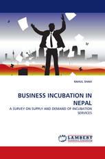 BUSINESS INCUBATION IN NEPAL