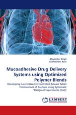 Mucoadhesive Drug Delivery Systems using Optimized Polymer Blends