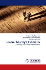 General Murthy''s Estimator