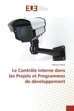 Le Contrôle interne dans les Projets et Programmes de développement