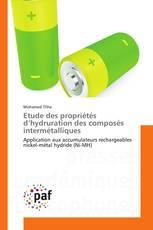 Etude des propriétés d'hydruration des composés intermétalliques