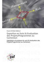 Expertise en Suivi & Evaluation des Projets/Programmes au Cameroun