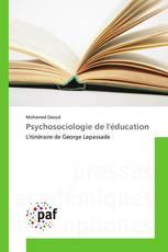 Psychosociologie de l'éducation
