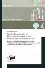Etude Structurale et Photoluminescence des Phosphites de Terres Rares
