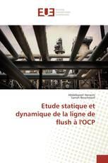 Etude statique et dynamique de la ligne de flush à l'OCP