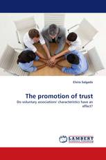 The promotion of trust