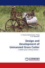 Design and Development of Unmanned Grass Cutter