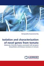 Isolation and characterization of novel genes from tomato