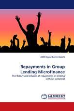 Repayments in Group Lending Microfinance