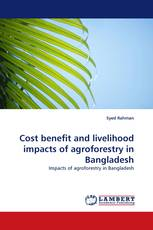 Cost benefit and livelihood impacts of agroforestry in Bangladesh