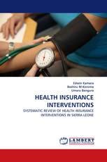 HEALTH INSURANCE INTERVENTIONS
