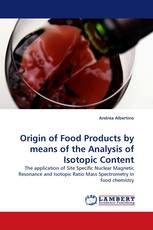 Origin of Food Products by means of the Analysis of Isotopic Content