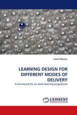 LEARNING DESIGN FOR DIFFERENT MODES OF DELIVERY