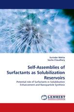 Self-Assemblies of Surfactants as Solubilization Reservoirs