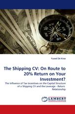The Shipping CV: On Route to 20% Return on Your Investment?