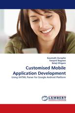 Customised Mobile Application Development