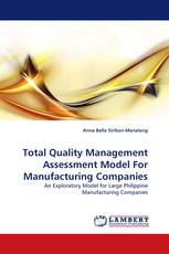 Total Quality Management Assessment Model For Manufacturing Companies