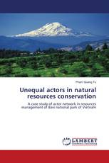 Unequal actors in natural resources conservation