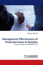 Management Effectiveness of Protected Areas in Namibia