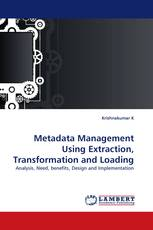 Metadata Management Using Extraction, Transformation and Loading