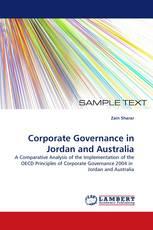 Corporate Governance in Jordan and Australia