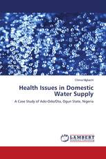 Health Issues in Domestic Water Supply