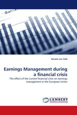 Earnings Management during a financial crisis