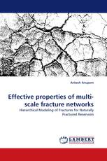 Effective properties of multi-scale fracture networks