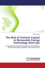 The Role of Venture Capital in Renewable Energy Technology Start-ups