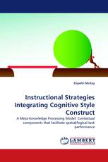 Instructional Strategies Integrating Cognitive Style Construct