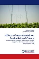 Effects of Heavy Metals on Productivity of Cereals