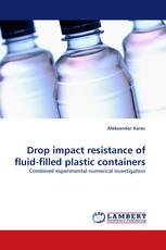 Drop impact resistance of fluid-filled plastic containers