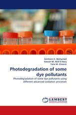 Photodegradation of some dye pollutants