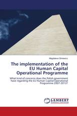 The implementation of the EU Human Capital Operational Programme